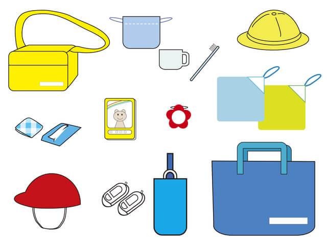 園児の持ち物,幼稚園,バッグ,手作り