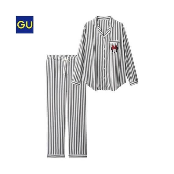 パジャマ(ストライプ),GU,パジャマ,人気