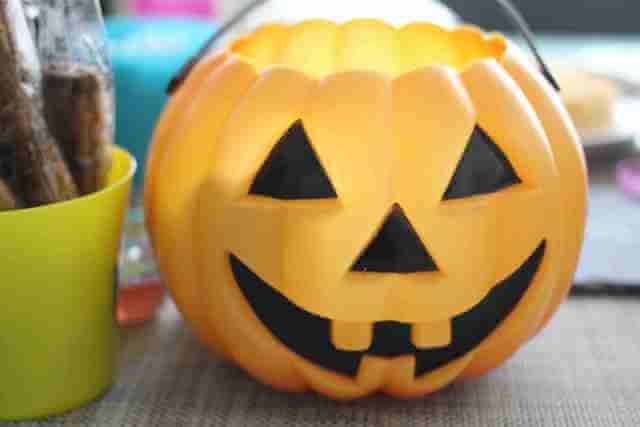 ハロウィンのかぼちゃカップ,カルディ,ハロウィン,