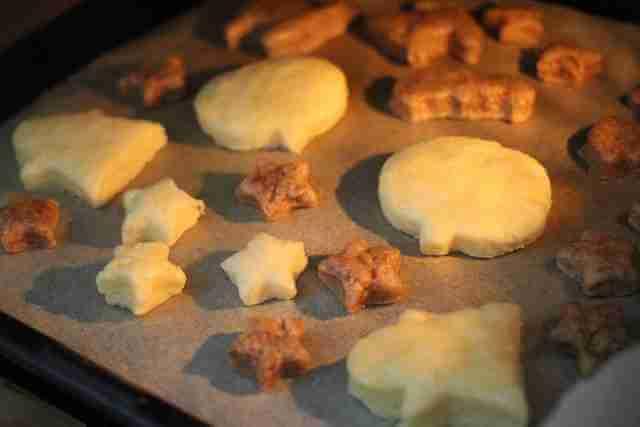 ダイソーのハロウィンのクッキー型で作るクッキー,ダイソー,ハロウィングッズ,