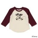 MICKEY長袖Tシャツ/プティマイン(petit main),子供服,petit main,