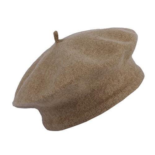 EOZY シンプル ベレー帽 ベビー キャップ キッズハット 女の子 ガールズ 無地タイプ 子供用帽子 40-46cm 心地良い ラクダ色,ベビー,ベレー帽,おすすめ