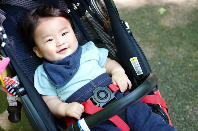 ベビーカーに乗る赤ちゃん,おもちゃ,ベビーカー,