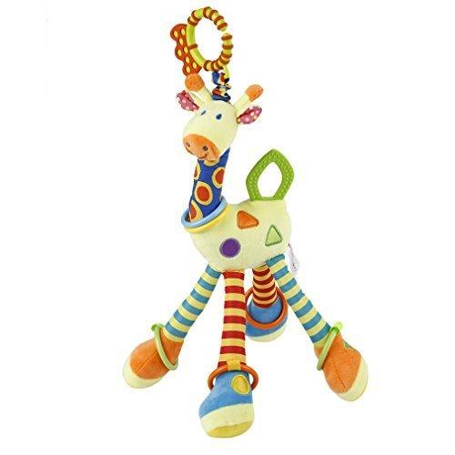 YKS ベビーベッドハンギング キリンおもちゃ 人形 知育 おもちゃ カラフル 出産 誕生日 プレゼントに最適,おもちゃ,ベビーカー,