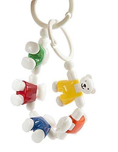 アンビトーイ テディベア・チェーン AM31106J【ボーネルンド】,おもちゃ,ベビーカー,