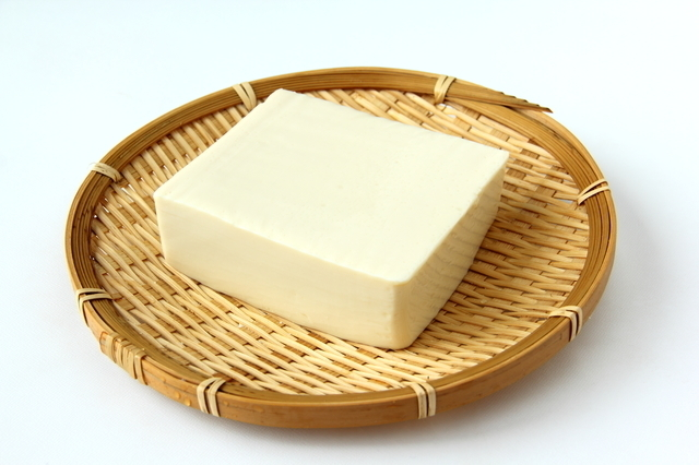 ざるの上の豆腐,幼児食,