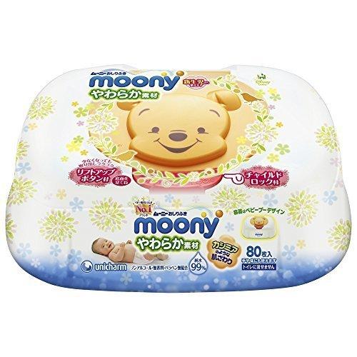 ムーニーおしりふき やわらか素材 純水99% 本体(80枚),おしりふき,おすすめ,赤ちゃん