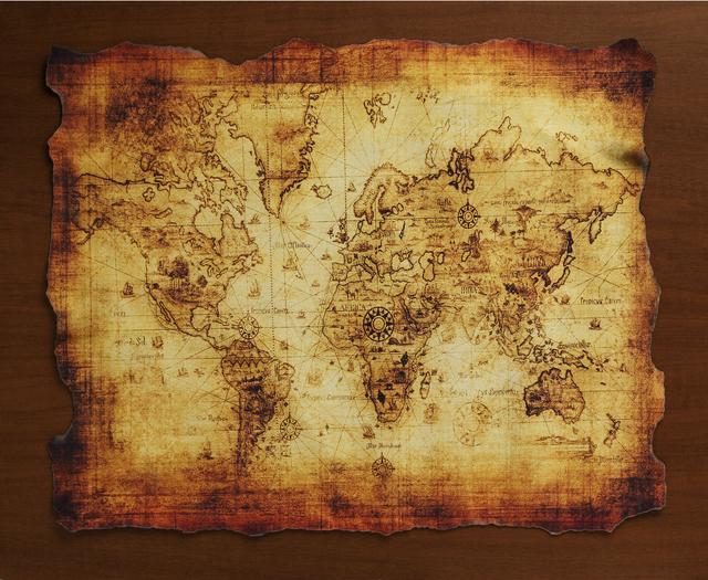 宝の地図,キャンプ,遊び,