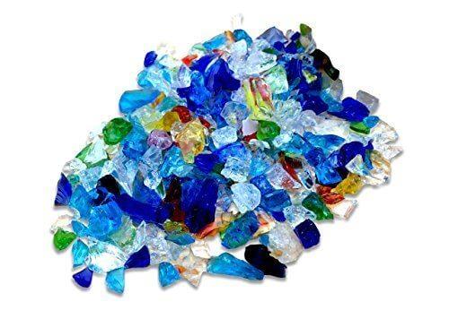 琉球ガラス カレット 虹のかけら サイズ小 10g レジン 封入 材料 アクセサリーパーツ,ハンドメイド,ピアス,