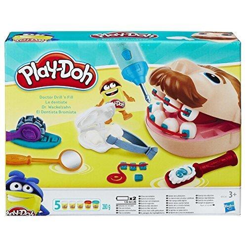 [プレイ・ドー]Play-Doh Doctor Drill 'n Fill / ドクタードリルンフィル 小麦ねんど増量パック [並行輸入品],プレイ・ドー,