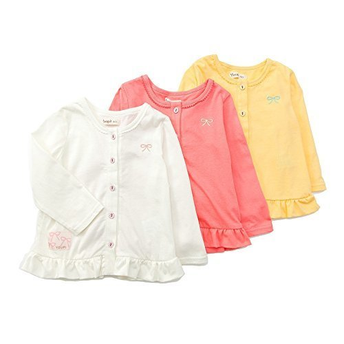 Youpi! (ユッピー ) カーディガン (80~130cm) キムラタンの子供服 (19126-172) イエロー 130,UVカット,子供服,