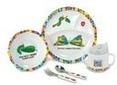 エリックカール 「はらぺこあおむし」 食器セット(ドット柄) 日本育児 (NI-6050006001),はらぺこあおむし,食器,
