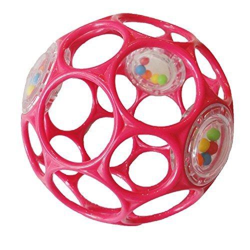 オーボール ラトル ピンク,知育玩具,1歳,