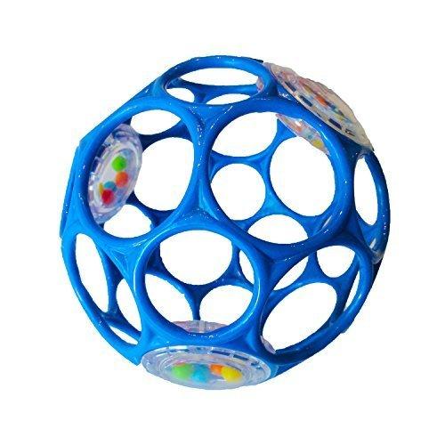 オーボール ラトル ブルー,知育玩具,1歳,