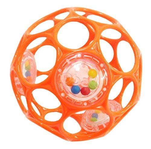 O'ball オーボール ラトル オレンジ (81119) by Kids II,知育玩具,1歳,