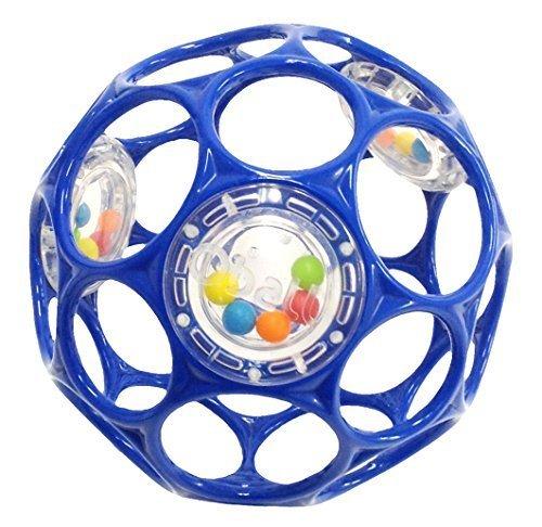 O'ball オーボール ラトル ブルー (81117) by Kids II,知育玩具,1歳,