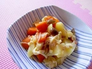 秋味♪レンジで簡単♪じゃがいもときのこの炒め煮,お弁当,じゃがいも,