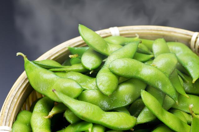 茹でた枝豆,離乳食,枝豆,