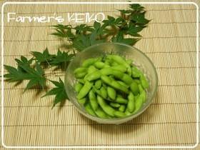 【農家のレシピ】美味しい枝豆の茹で方,離乳食,枝豆,