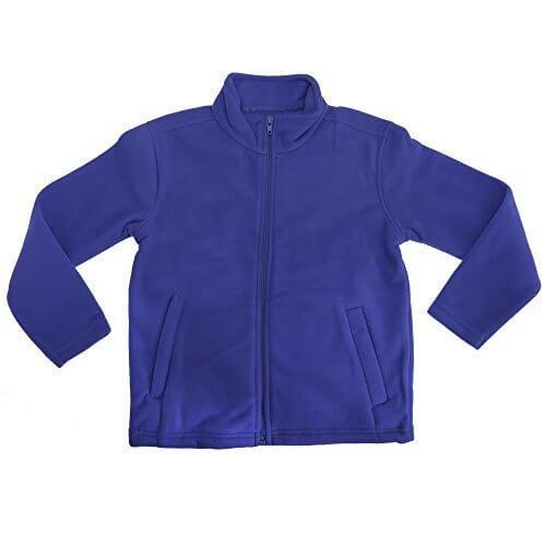 (レガッタ) Regatta キッズ・子供・ジュニア ブリゲード フルジップ フリースジャケット フリースアウター 上着 (9-10歳) (ブルー),キッズ,フリース,