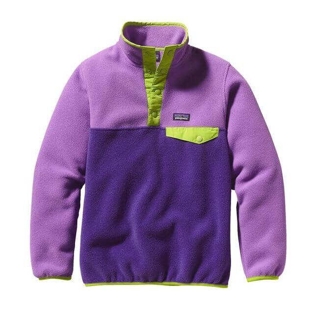 (パタゴニア)patagonia Girls' LW Synch Snap-T P/O 65545 UWTB M,キッズ,フリース,