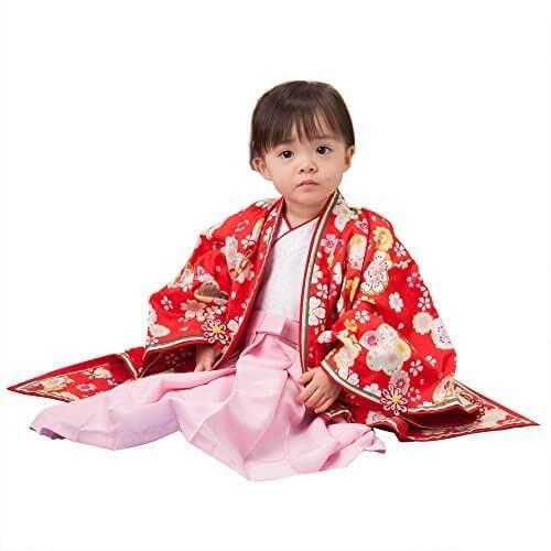 女の子ベビー着物 十二単風衣裳 お姫さま 赤 100日(3ヶ月)-1才(60cm前後) 一体型 中国製,赤ちゃん,着物,