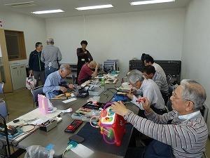 札幌おもちゃクリニック修理の様子,おもちゃ,修理,