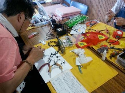 名古屋おもちゃ病院とんかちパーツ作り,おもちゃ,修理,