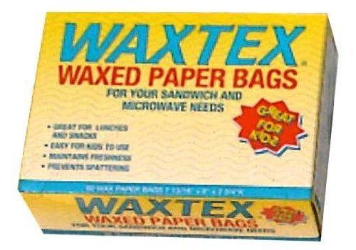 ワックステックス マイクロウェーブ バック(ワックスペーパーバック) 60P WX1B,お弁当,ワックスペーパー,