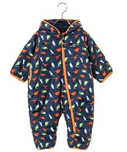 ピクニックマーケット (PICNIC MARKET) ジャンプスーツ produced by ミキハウストレード 23-1201-614 M(80-90cm) 青,ベビー,アウター,おすすめ