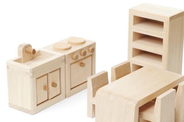 木のキッチン,赤ちゃん,おもちゃ,木
