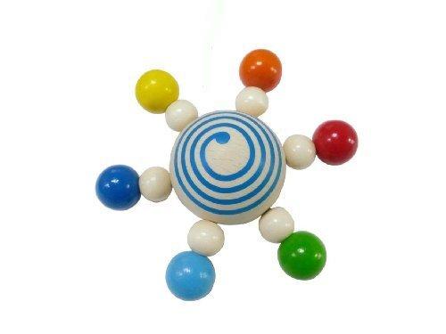 HEIMESS スターコマ カラー HM9703,赤ちゃん,おもちゃ,木