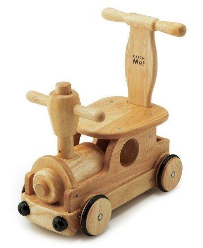 木's 乗用ポッポ,赤ちゃん,おもちゃ,木