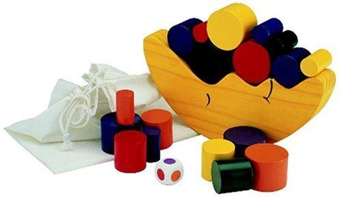お月さまバランスゲーム,赤ちゃん,おもちゃ,木