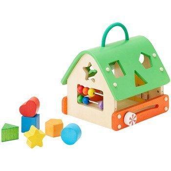 【森のあそび道具シリーズ】 あそびのおうち,赤ちゃん,おもちゃ,木