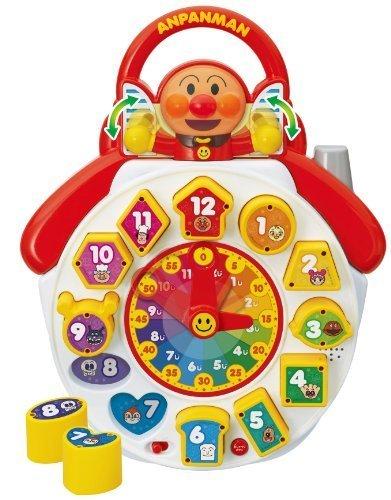 アンパンマン パズルではじめるおしゃべり知育とけい,知育玩具,時計,