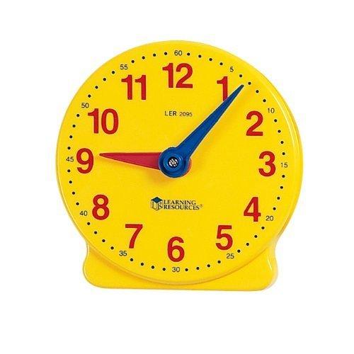ラーニングリソーシーズ ラーニングクロック【ボーネルンド】,知育玩具,時計,