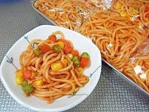 お弁当!ちょこっと欲しい時にも使えるナポリタン☆,お弁当,おかず,冷凍