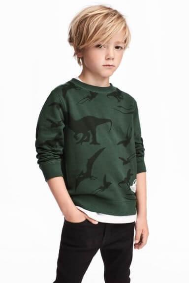 Printed sweatshirt,エイチアンドエム,キッズ,