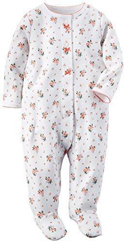 カーターズ carter's アパレル baby line ロンパース ホワイト フラワー 115G002 【並行輸入品】 6ヶ月,赤ちゃん,カバーオール,