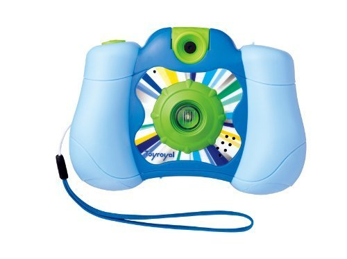 KIDSデジタルカメラ2 ブルー No.8874,5歳,おもちゃ,男の子