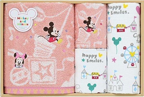 Disney ギフト スマイルバルーン (バス×1・フェイス×1・ゲスト×2) ピンク WR50592 P,出産祝い,ギフト,