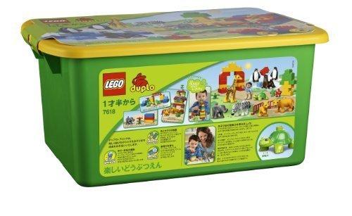 レゴ (LEGO) デュプロ 楽しいどうぶつえん 7618 (新バージョン),子ども,積み木,おすすめ