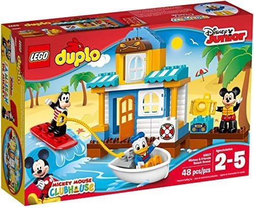 レゴ (LEGO) デュプロ ミッキー&フレンズのビーチハウス 10827,子ども,積み木,おすすめ