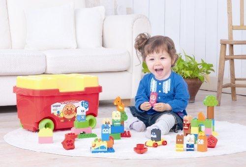 ブロックラボ はじめてのブロックワゴン(アンパンマン),子ども,積み木,おすすめ