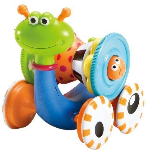 ユーキッド はいはいを促進 とことこかたつむり ミュージックおもちゃ 知育玩具,動く,おもちゃ,赤ちゃん