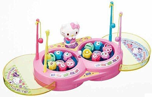 ハローキティPOP ミニミニさかなつり,動く,おもちゃ,赤ちゃん
