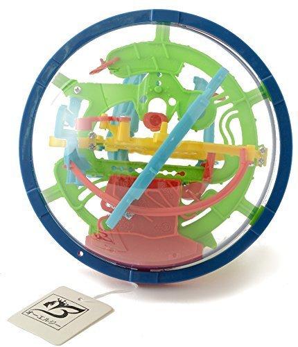【オーエルジー】 3D 立体 迷路 パズル ボール 知育 こども 空間認識 プレゼントに,おもちゃ,大人,