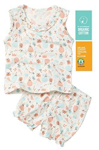 【あるこんたるこん】オーガニック ベビー キッズ ルームウェア パティ 女の子 パジャマ (80),子供服,パジャマ,