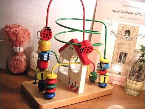 木製おもちゃのだいわ くねくねランド 家,ルーピング,